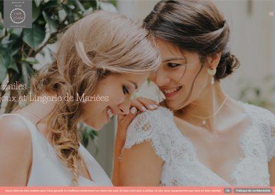 Création d'un site e-commerce de vente de bijoux et de lingerie de mariée