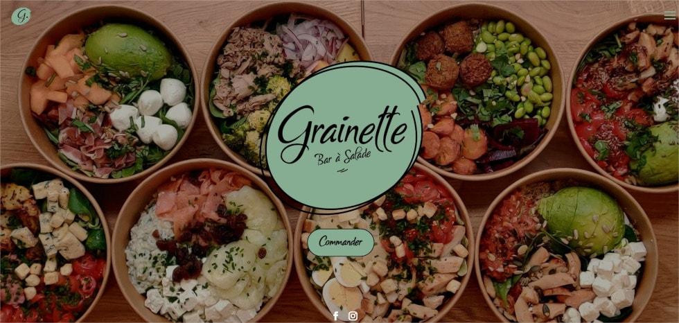 Page d'accueil Grainette.fr