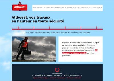 Création du site d'Altiwest