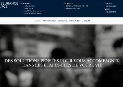 Création du site du groupe Mondial Assurance Finance