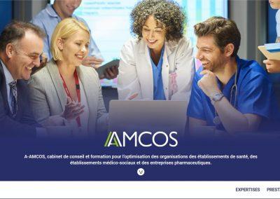 Création du site vitrine A-AMCOS