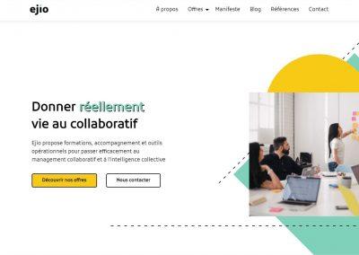 Refonte du site Ejio.net
