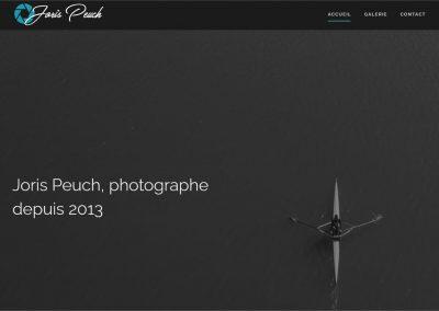 Création du site du photographe Joris Peuch
