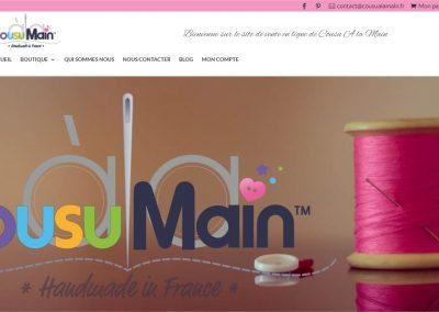 Refonte du site cousualamain.fr