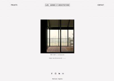 Création du site de l'Atelier Jean Maleyrat
