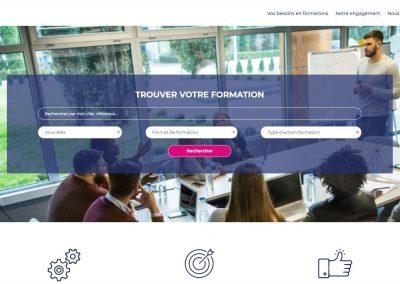 Création du site formations.a-amcos.fr